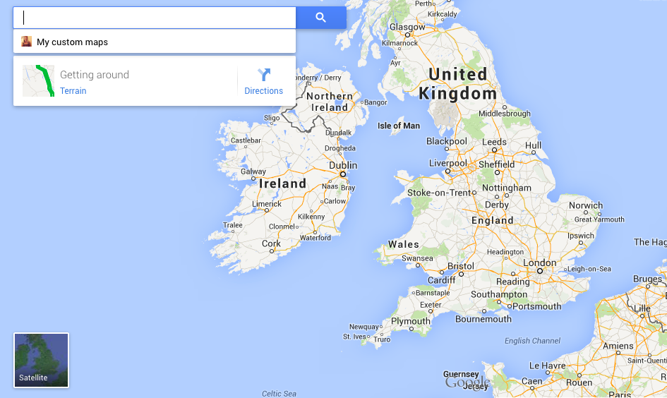 google world map ireland images