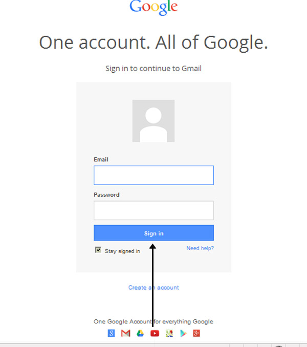 How To Create A Gmail Account   New Creative Blog