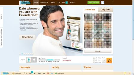 home page visit amanda profile site