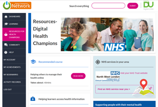 Resources for Digital Health Champions